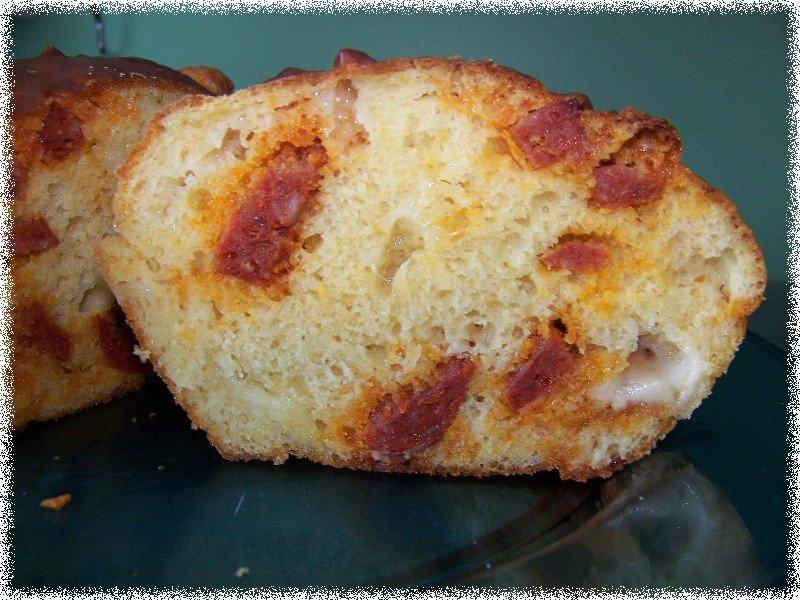les petits plats de 187 cake au comt 233 et chorizo selon cyril lignac
